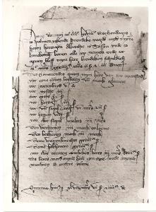 Die Urkunde von 1378 aus Celle.