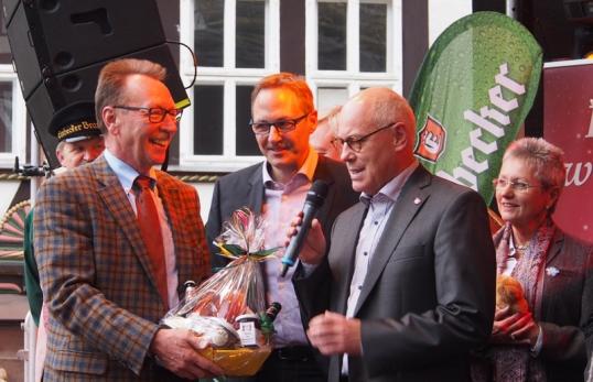 Bernd Giemann, Thorsten Eickenberg, Lothar Gauß.