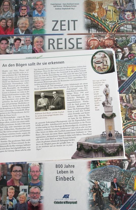 Till Eulenspiegel in der ZEIT REISE Einbeck.