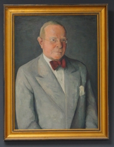 Wilhelm Bendow, gemalt vom Einbecker Kunstmaler Kurt Hensel.