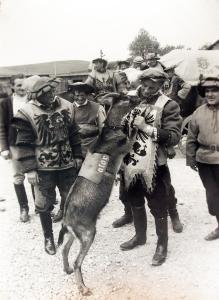 Maskottchen Ator beim Biertreck 1969.