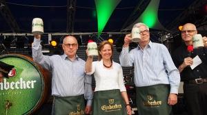 Prost, Einbecker! Lothar Gauß, Dr. Sabine Michalek, Walter Schmidt.