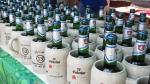 Krüge mit Einbecker Alkoholfrei-Gerstensaft bekam jeder erwachsene Teilnehmer.