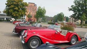 Roadster vor dem PS-Speicher im ehemaligen Kornhaus.