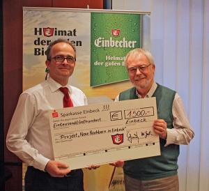 Martin Deutsch (l.), Michael Büchting. Foto: Einbecker Brauhaus AG