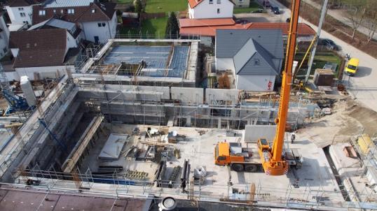 Noch eine große Baustelle: In der neuen multifunktionalen PS-Halle am PS-Speicher werden in Einbeck am 3./4. September die Niedersächsischen Musiktage eröffnet.