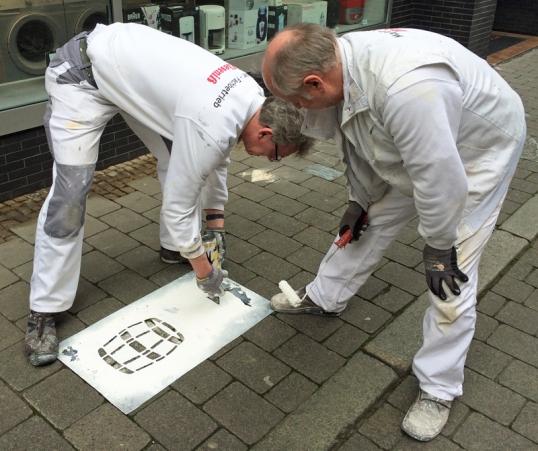 Frische Spuren: Dem Bierpfad können Einbeck-Besucher jetzt wieder gut folgen. Foto: Einbeck Marketing GmbH