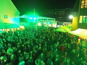 Eine richtig gute Party auf dem Hof der Brauerei steht Einbeck auch 2016 bevor. Foto: Einbecker Brauhaus AG