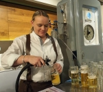 Einbecker Bier aus der Zapfsäule.