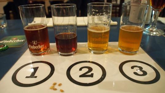 Wo ist der Unterschied? Bei der Bierverkostung wird's erläutert.