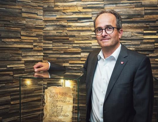 Brauhaus-Vorstand Martin Deutsch. Foto: Einbecker Brauhaus AG